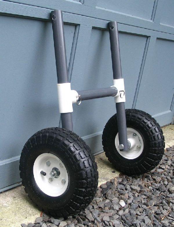Diy kayak cart scupper diy do it your self for Pvc fishing cart