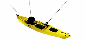 Necky kayak for Emotion fishing kayak