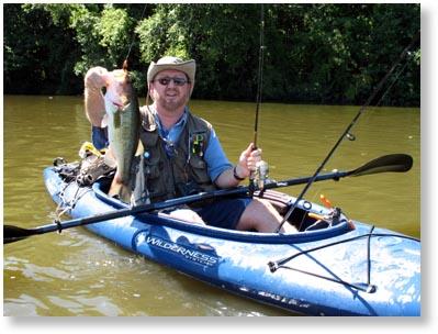 Kayak bass fishing setup for Bass fishing kayak