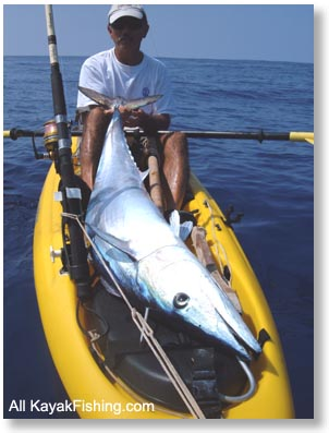 Necky kayak for Kayak fishing hawaii