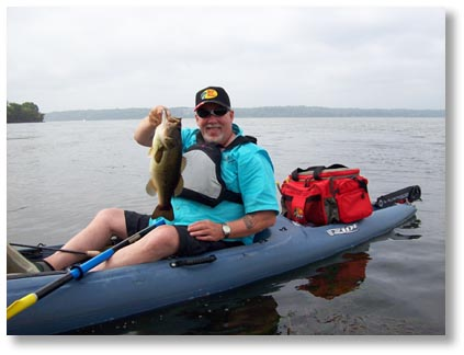 Necky kayak for Bass pro fishing kayak