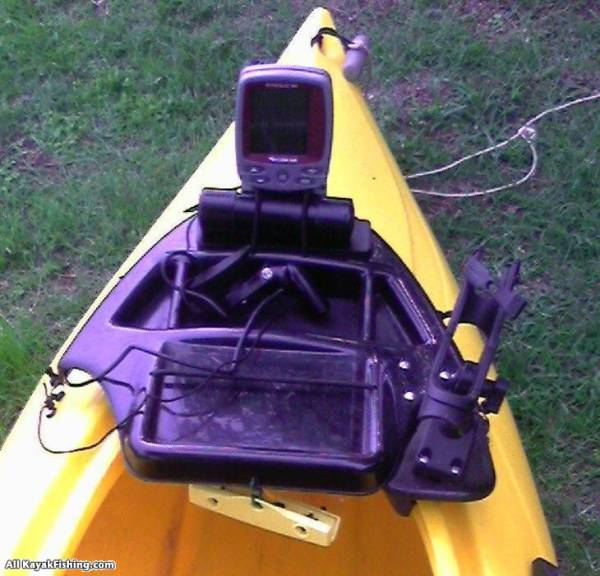 Swifty 9 5 rigging akf photo gallery for Best kayak fish finder