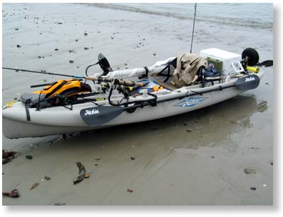 Hobie Fishing Kayak on Hobie Outback Kayak Setup For Kayak Fishing Hobie Kayaks Makes Alot